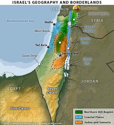 Israel's Geography and Borderlands