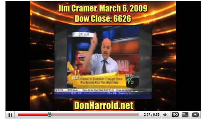 CNBC Jim Cramer Calls Stocks Bear Market Bottom in Hindsight :: The Market Oracle