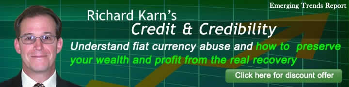 CREDIT & CREDIBILITY is the Emerging Trends Report's comprehensive assessment of today's financial turmoil