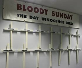 File:Bloody Sunday Banner and Crosses.jpg