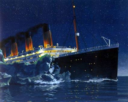 http://www.photosfan.com/images/titanic-hitting-an-ice-burg1.jpg