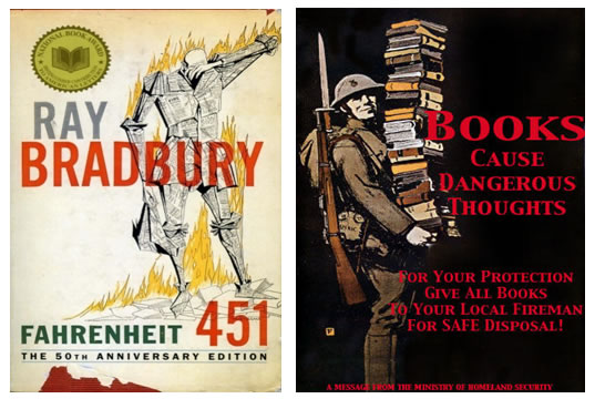an analysis of the concept of science fiction in the novel fahrenheit 451 by ray bradbury Symbolism in fahrenheit 451 ray bradbury, perhaps one of the best-known science fiction, wrote the amazing novel fahrenheit 451 the novel is about guy montag, a.