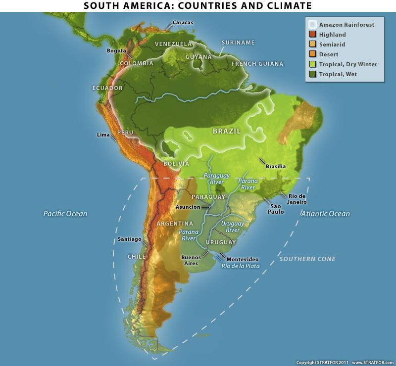 energy profile of south america