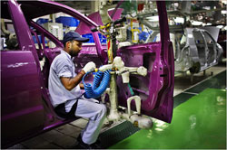 Soaring sales keep India's car factories humming.