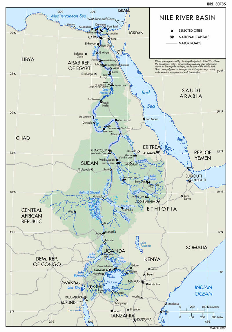 Geopolitics of Water in the Nile River Basin :: The Market Oracle