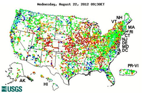US Water Shortages To Impact Power Supply The Market Oracle - Us electricity map