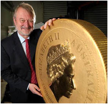 The Record Breaking 1 Tonne Gold Bulllion Coin The