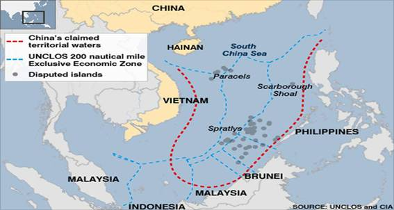 China Busy Redrawing Territorial Waters Map Sowing Seeds of Conflict