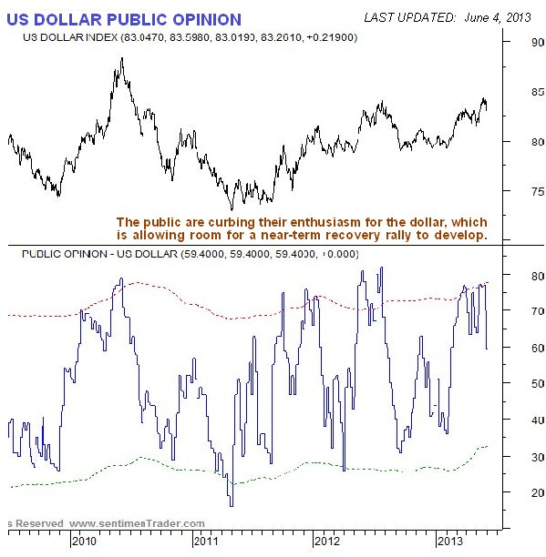 US Dollar Public Opinion Chart