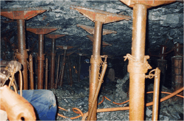 Typical Reef Mining in South Africa