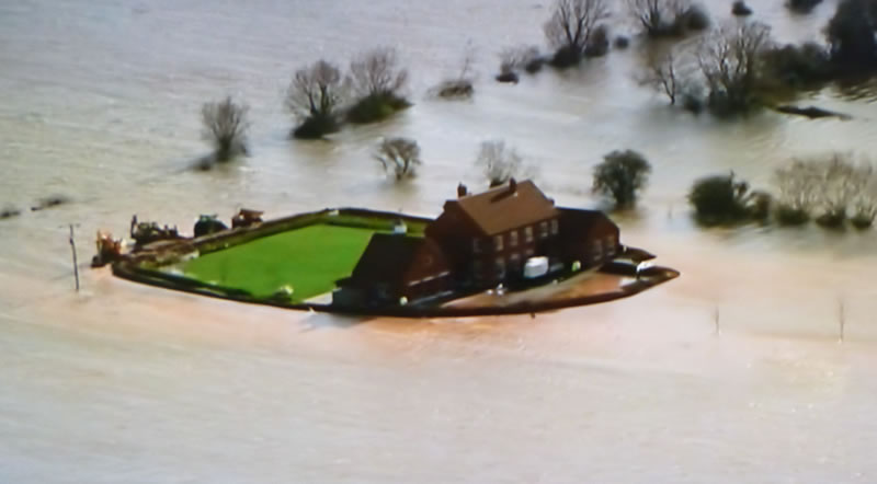 UK Housing Market And Climate Change Floodplains River - How high is my house above sea level uk