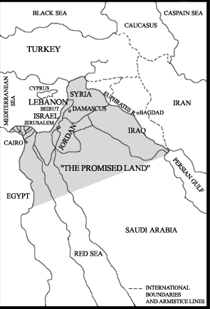 The Israeli Promised Land Dream - The Criminal Roadmap ... on alexandria map, eclipse map, love map, america map, fiction map,