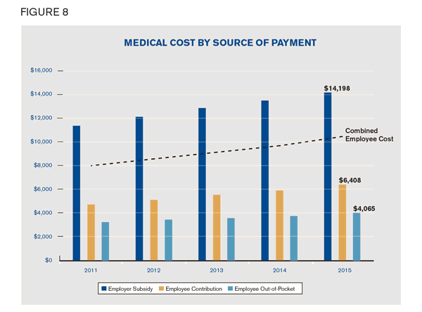 Medical Cost by Source of Payment