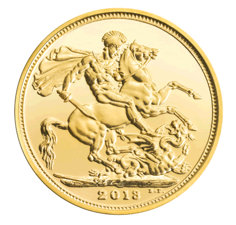 British Gold Sovereign Gold Coin