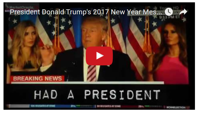President Donald Trump's 2017 New Year Message