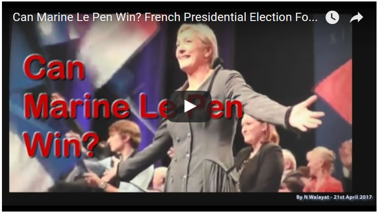 Can Marine Le Pen Win? French Presidential Election Forecast 2017