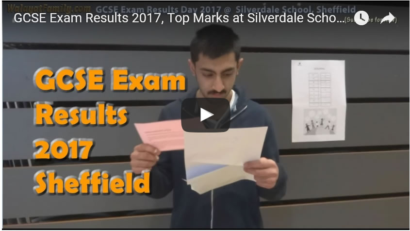 GCSE Exam Results 2017, Top Marks at Silverdale School, Sheffield