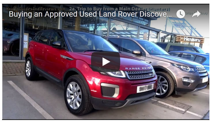 Buying an Approved Used Land Rover Discovery Sport - Hunters