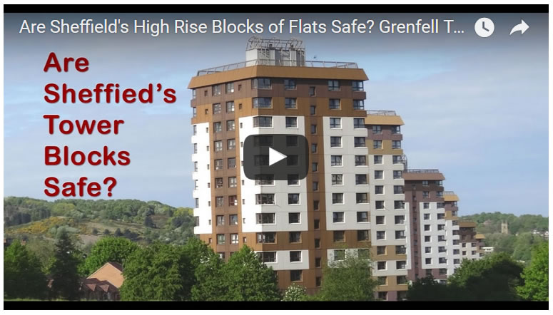 Are Sheffield's High Rise Tower Blocks Safe?