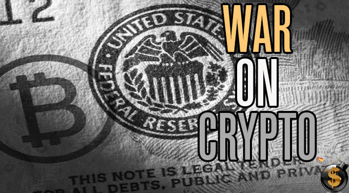 war on cash expands to crypto currencies
