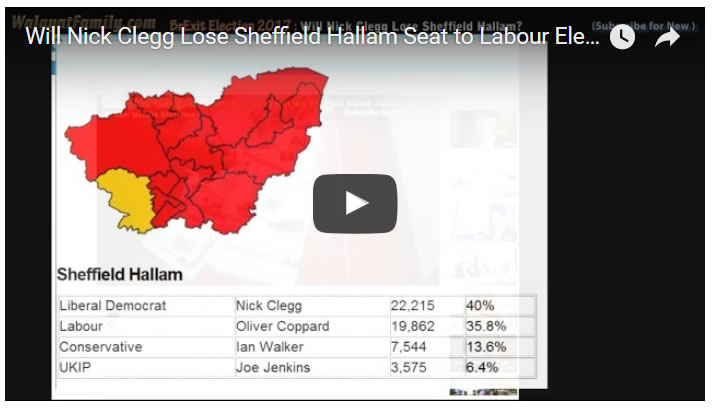 Can Labour Win Nick Clegg's Sheffield Hallam Seat in Election 2017?