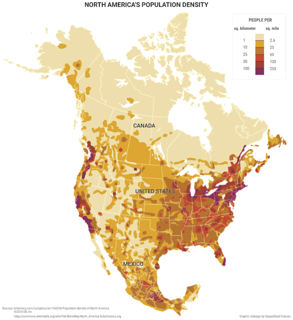Maps That Explain Why North America Economy Will Flourish The - Us economy map