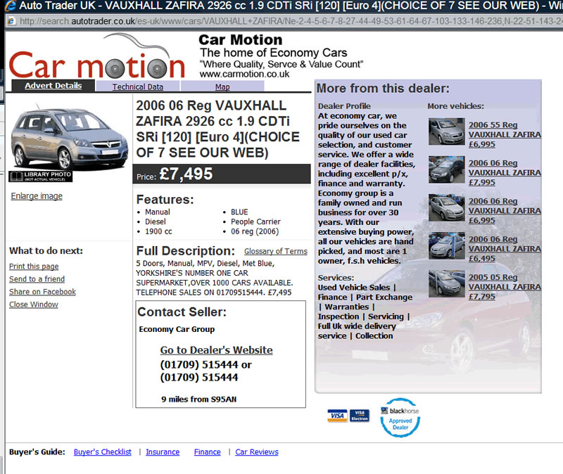 Used Car Buying From UK Dealer Top Tips, CarMotion.co.uk Real ...