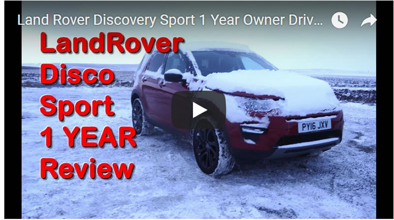 Land Rover Discovery Sport 1 Year Owner Driver Mega Review of What's Good and Bad