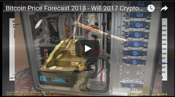 Bitcoin Price Forecast 2018 - Will 2017 Crypto Bubble Mania Repeat?