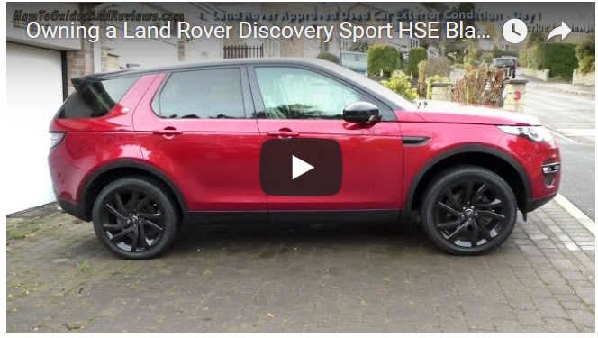 Buying A Land Rover Discovery Sport Hse Black Interior Review