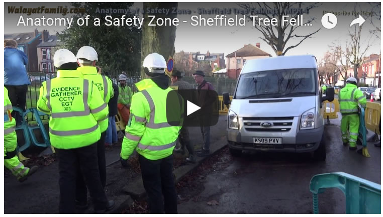 Anatomy of a Safety Zone - Sheffield Tree Felling's