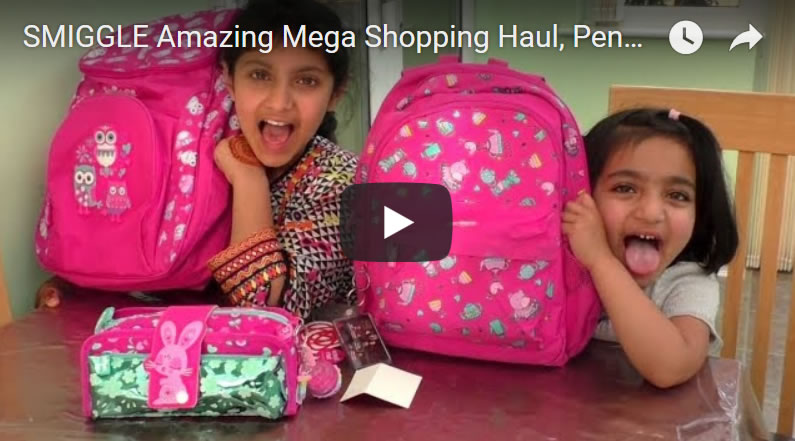 SMIGGLE Amazing Mega Shopping Haul, Pencil Cases, Smigglets and Giant Back Packs!