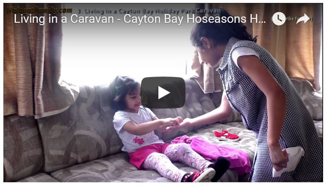Staying in a Caravan - UK Summer Holidays 2018 - Cayton Bay Hoseasons Holiday Park