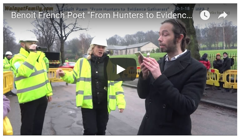 "Benoit French Poet ""From Hunters to Evidence Gatherers"" Save Sheffield's Trees - MPR 7"