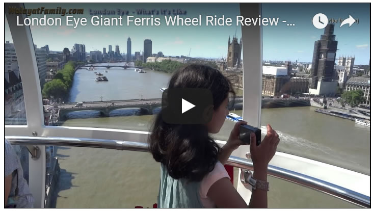 London Eye Giant Ferris Wheel Ride Review - Top UK Tourist Attractions 2018