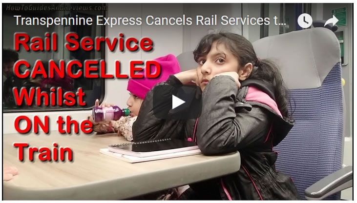 Transpennine Express Cancels Rail Services to Manchester Airport Whilst on the Train!