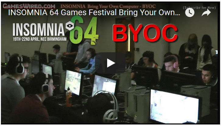 INSOMNIA 64 Games Festival - Bring Your Own Computer (BYOC)