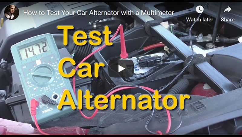 How to Test Your Car Alternator with a Multimeter