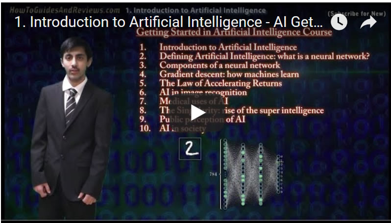 1  Introduction to Artificial Intelligence - AI Getting Started