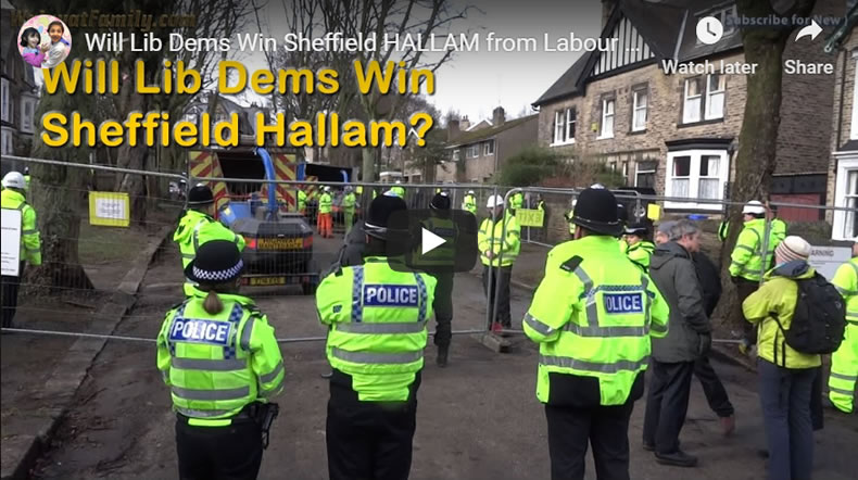 Will Lib Dems Win Sheffield Hallam From Labour ? General Election 2019.