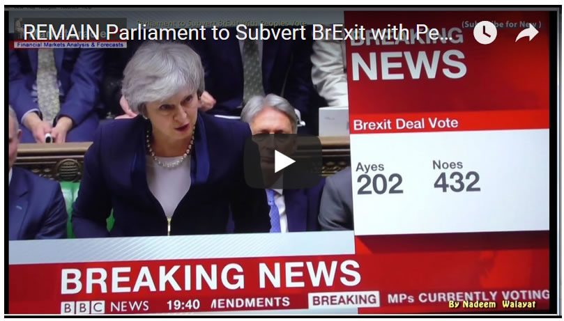 REMAIN Parliament to Subvert BrExit with Peoples Vote FIXED 2nd EU Referendum