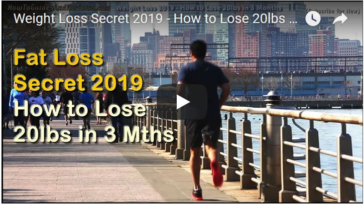 Weight Loss Secrets 2019 - How to Lose 20lbs of FAT in 3 Months!