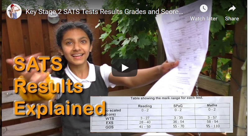 Key Stage 2 SATS Tests Results Grades and Scores GDS, EXS, WTS Explained