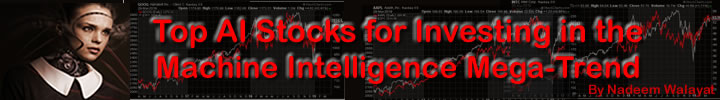 Top AI Stocks Investing to Profit from the Machine Intelligence Mega-trend