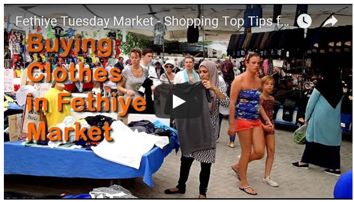 Fethiye Tuesday Market - Shopping Top Tips for Buying Cheap Clothes - Dalaman, Turkey Holidays 2019