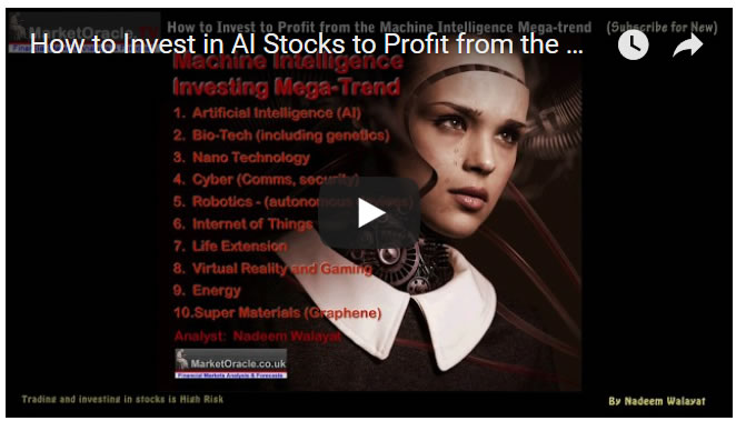 How to Invest in AI Stocks to Profit from the Machine Intelligence Mega-trend