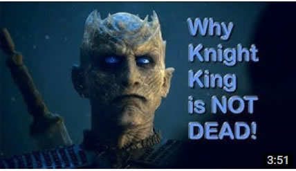 Is the Night King is actually dead!