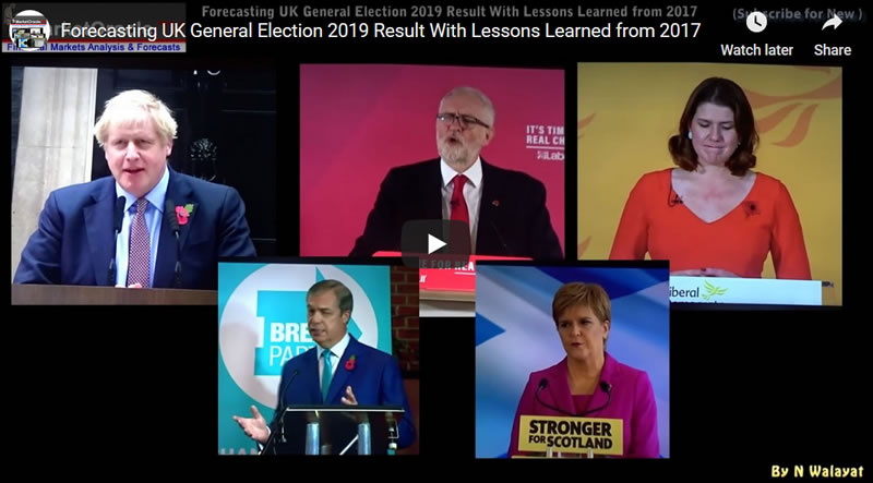 Forecasting UK General Election 2019 Result With Lessons Learned from 2017