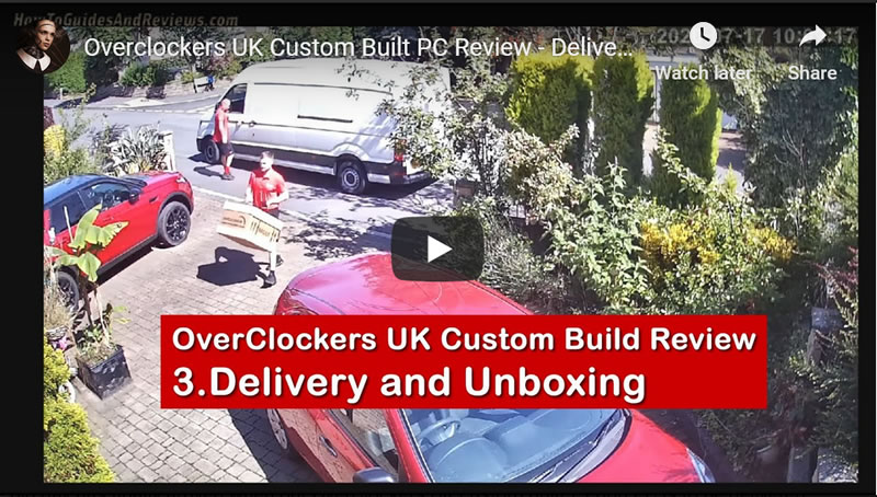 Overclockers UK Custom Built PC Review - Delivery and Unboxing (3)