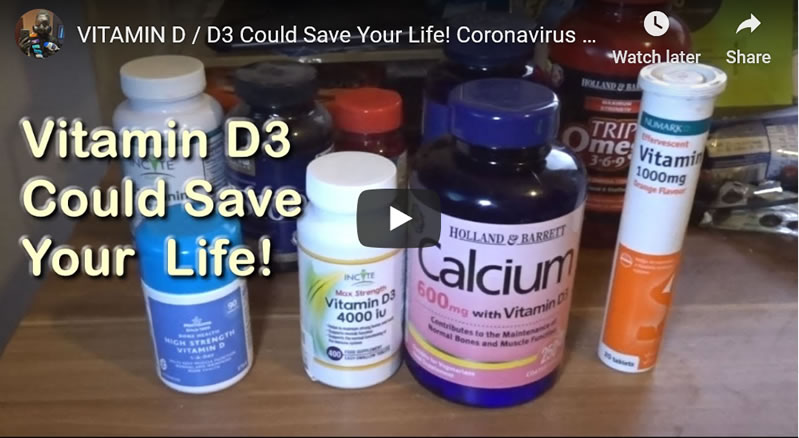 VITAMIN D3 Could Save Your Life! Coronavirus Pandemic Protection & COVID-19 Illness Mitigation